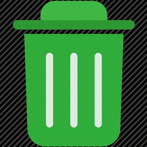 delete, dustbin, recycle, remove, trash, wast icon