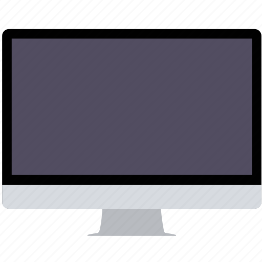 desktop, display, mac, monitor, television icon