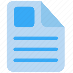 document, file, history, record, report, text, word icon