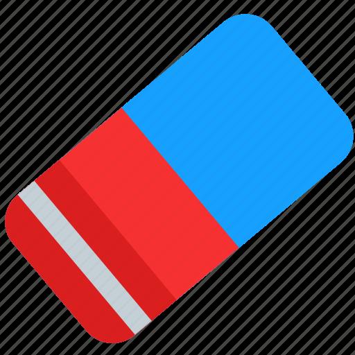 eraser, remove, rubber, tool icon