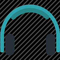 earphone, headphone, listen, music, play, song icon