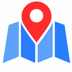 chart, location, map, pin, place, view icon