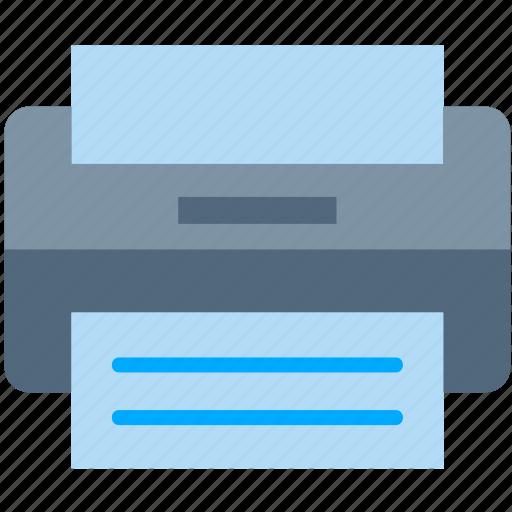 copy, document, photo, print, printer, scane icon