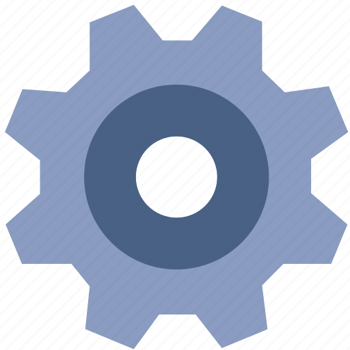 control, gear, machine, setting, system, tool icon