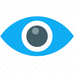 eye, mission, view, vision icon