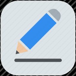edit, paint, profile, sketch, tool, write icon