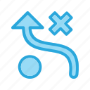 bussiness, strategy, tactic, tactics icon