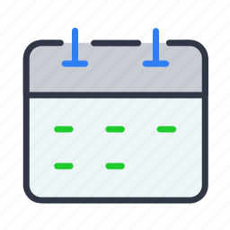 calendar, date, day, events, schedule icon