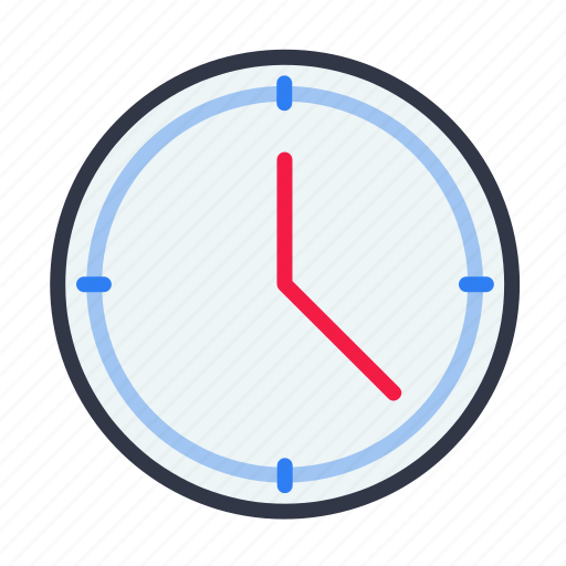 alarm, analog, clock, time, watch icon