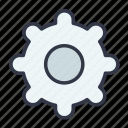 control, gear, option, settings, tool icon