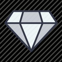 diamond, important, jewel, ruby, stone icon