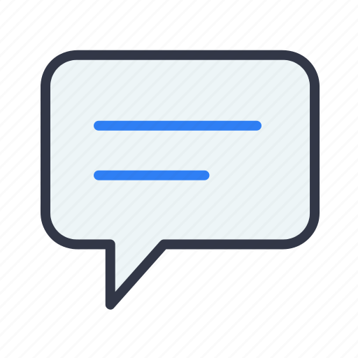 chat, comment, message, sms, talk icon