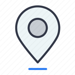 address, map, pin, place, point icon