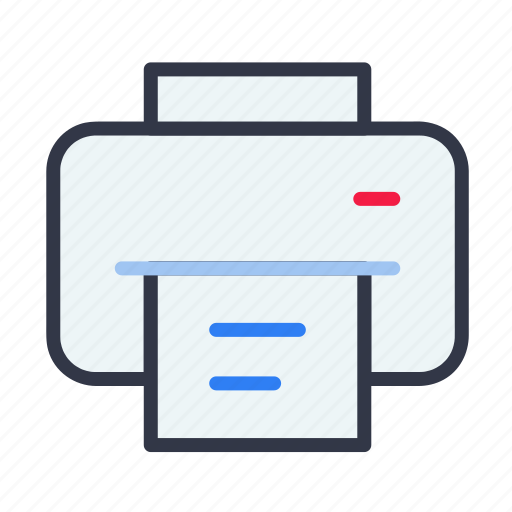document, photo copy, print, printer, scan icon