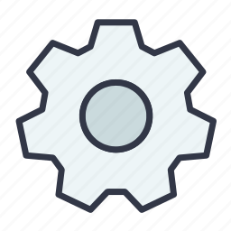 control, gear, option, settings, tool icon