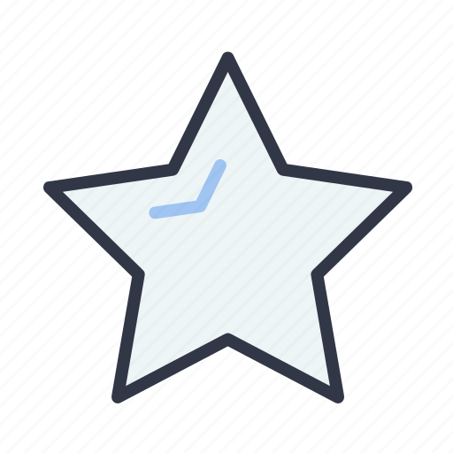 bookmark, favorite, like, rating, star icon