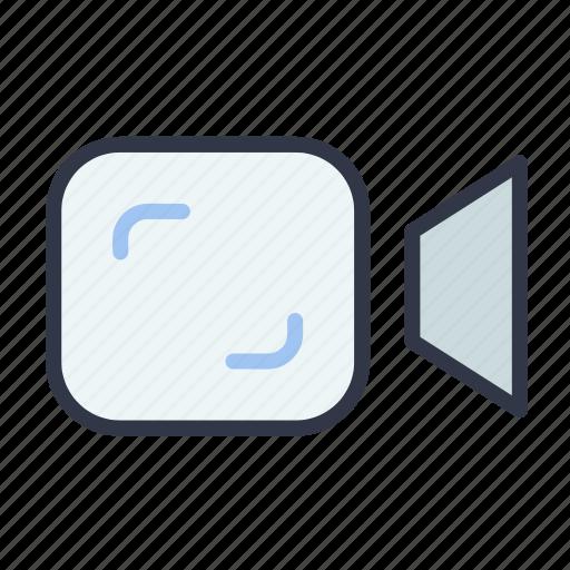 camera, file, media, recording, video icon