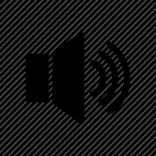 audio, loud, music, sound, speaker, speakers, volume icon