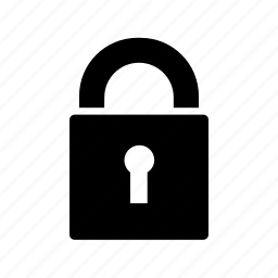 encrypted, lock, locked, padlock, password, safety, security icon