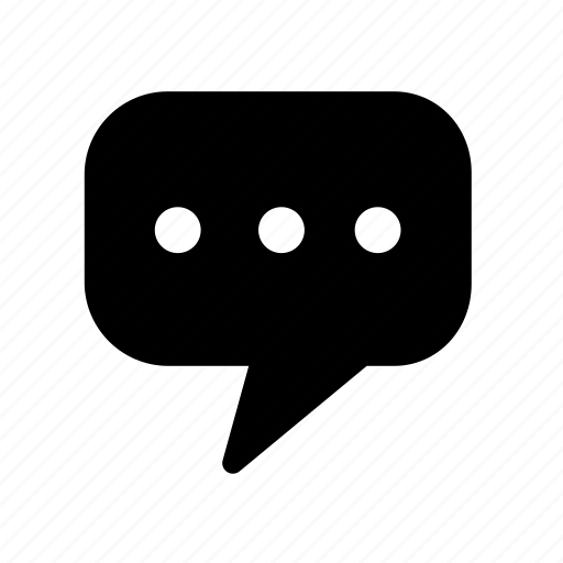 bubble, chat, communication, conversation, interaction, speech, talk icon
