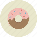 donut, food icon