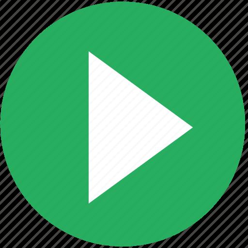 arrow, back, basic, next, play, system, youtube icon