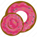 bakery, dessert, donut, food icon