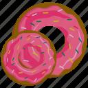 bakery, dessert, donut, food