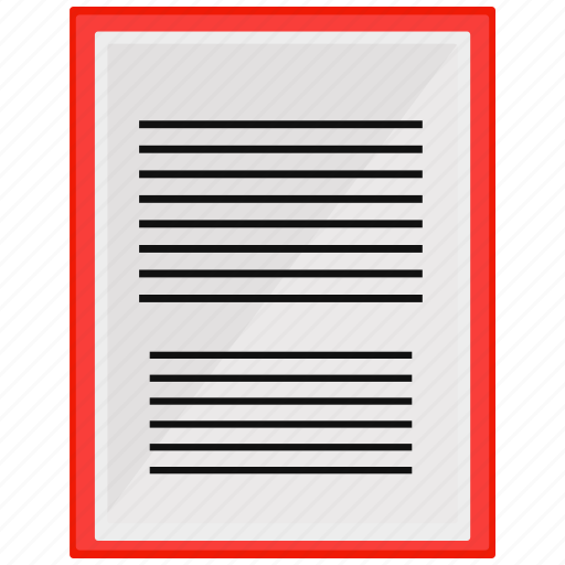documents, files, new, paper icon