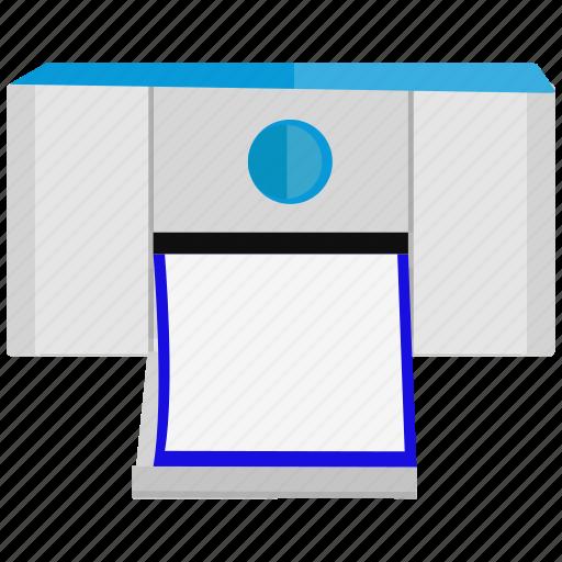outline, print, printer icon