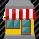 building, commerce, shop, store