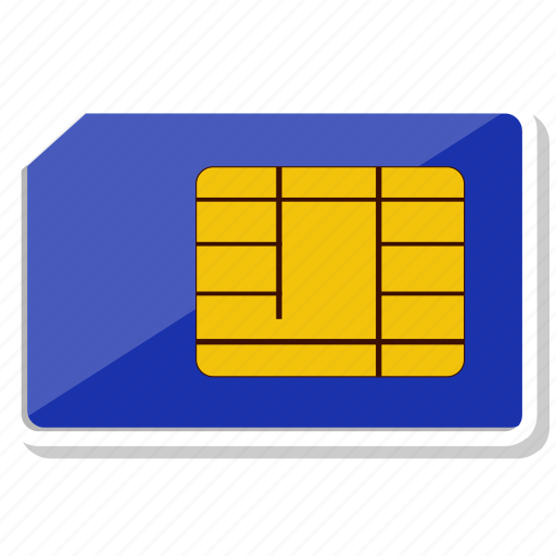 card, mobile, sim, sim card icon