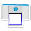 outline, print, printer icon