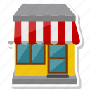 building, commerce, shop, store icon