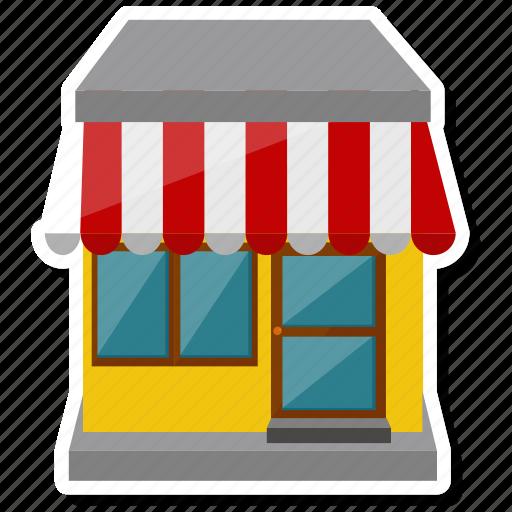 building, commerce, shop, store icon