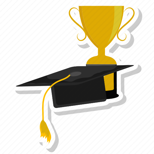 award, cup, education, hat, learning, olympic, winner icon