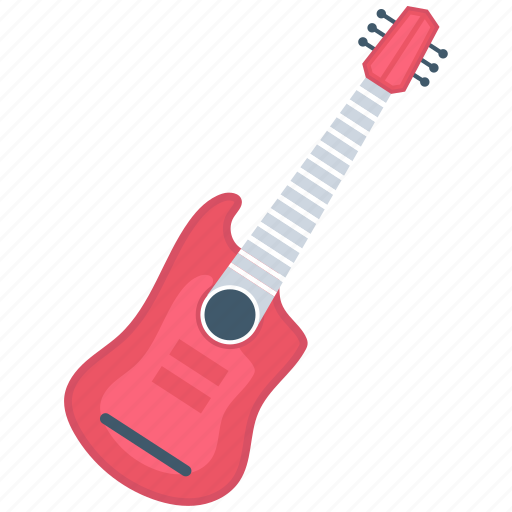 electric, guitar, instrument icon