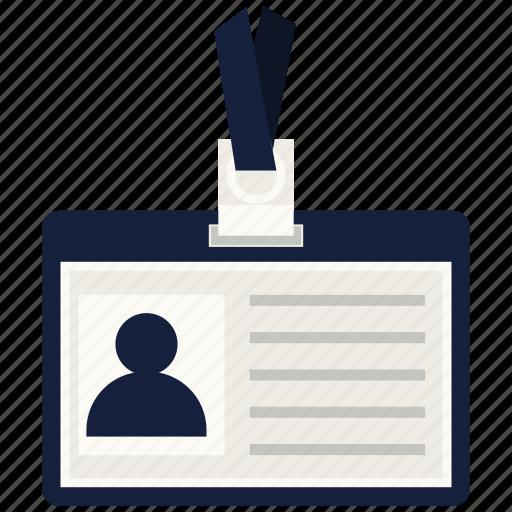 business, card, id, identity card, identity document icon