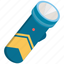 bright, flashlight, lamp, light icon