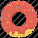 bakery, cake, caramell, dessert, donut, food