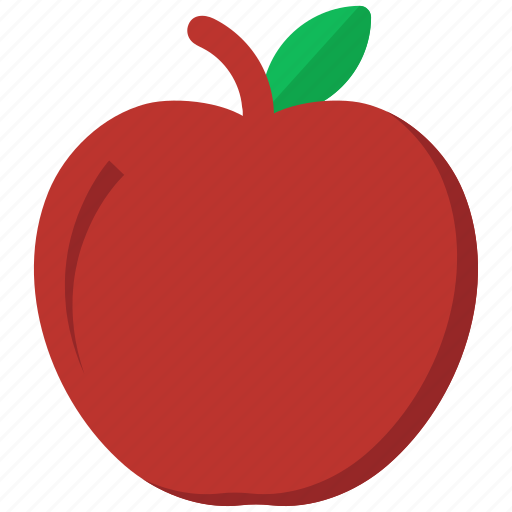 Apple, food, fruit, red icon - Download on Iconfinder