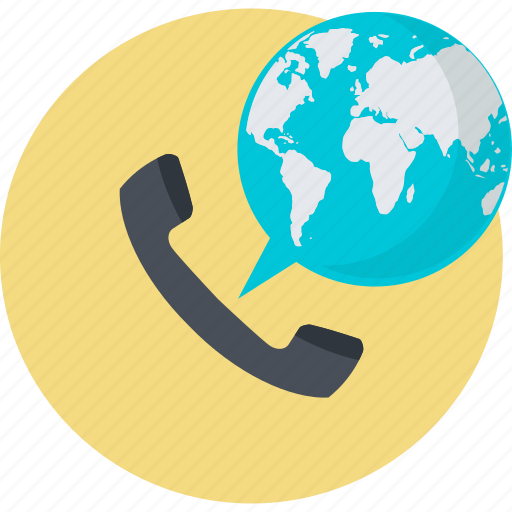 business, call, communication, conference, global icon