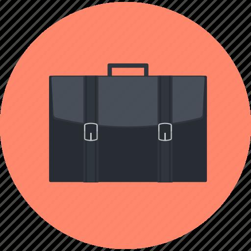 business, flat design, portfolio, round icon