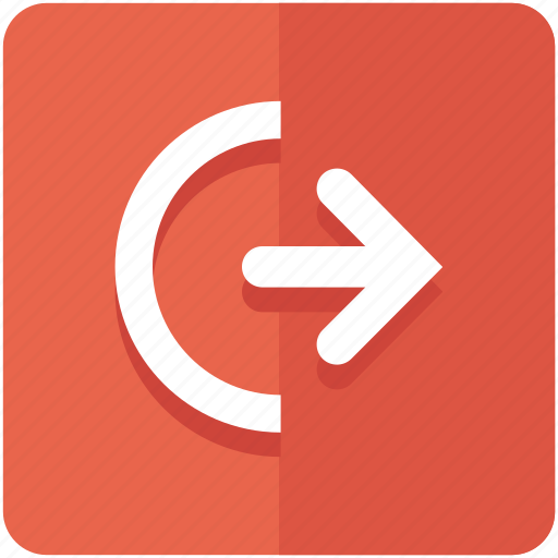 Exit, logout, off, out, power, shutdown, sign icon - Download on Iconfinder