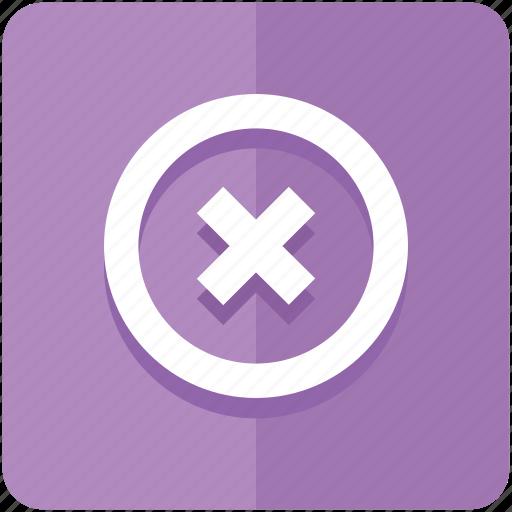 block, cancel, close, delete, denied, exi, remove icon