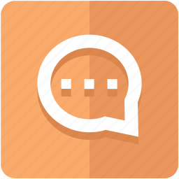 bubble, chat, comment, instant, message, notification icon