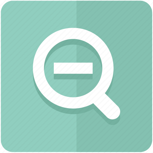 demagnify, find, out, search, tool, zoom icon