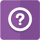 circle, faq, help, information, query, question icon