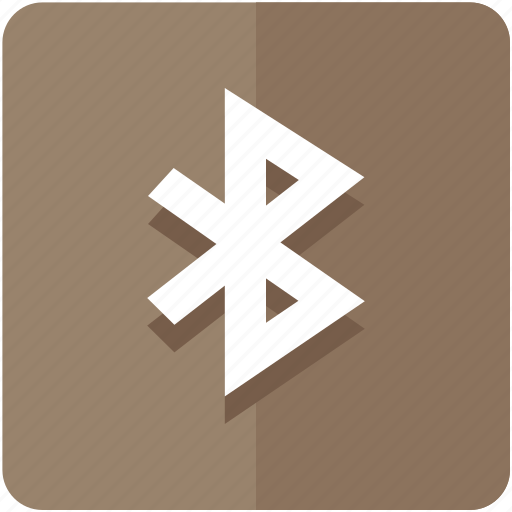 bluetooth, brown, color, connection, signal, sync, ui icon