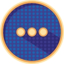 badges, communication, dotted, interface, internet, things, ui